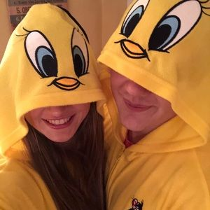 Other - Tweety bird onsie costume